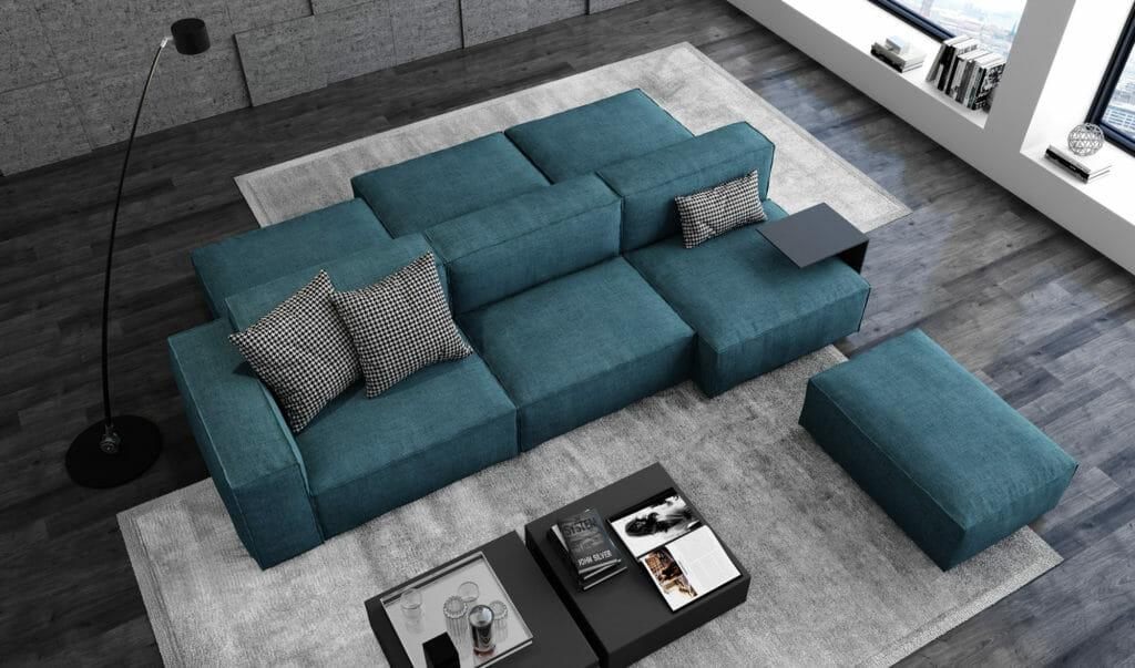 divano modello berlino vista 3